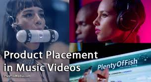 embedded advertising in music videos